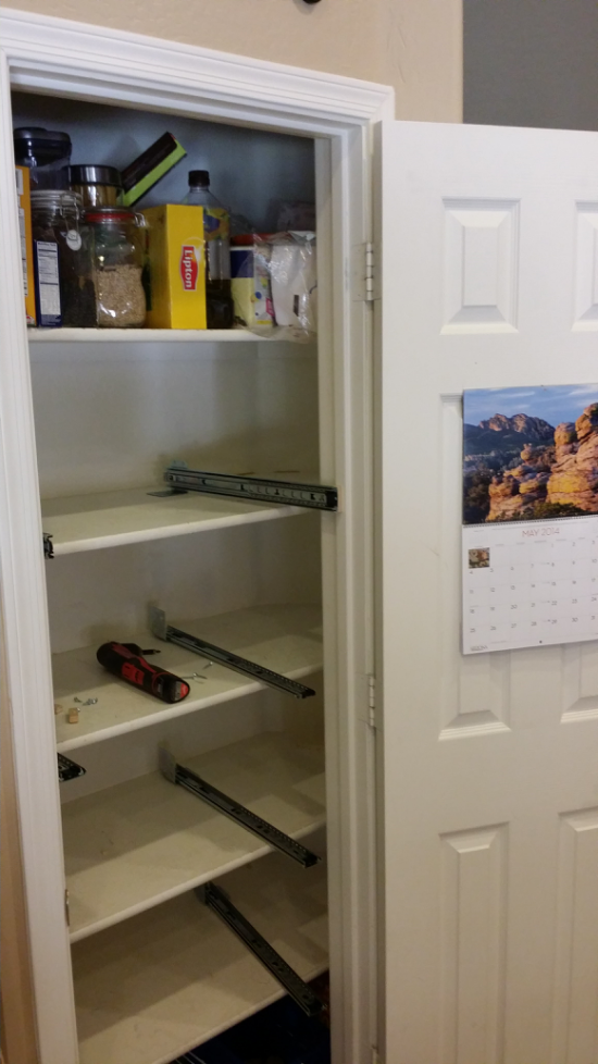 Roll Out Shelf Pull Out Pantry Shelves Ez Roll Out